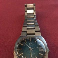 Relojes automáticos: RELOJ DE PULSERA AUTOMATICO CERTINA MODELO BLUE RIBBON DE LOS AÑOS 70. Lote 170364636