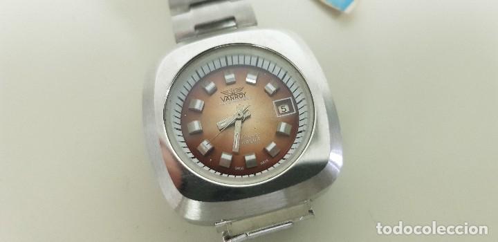 J7- ANTIGO RELOJ VANROY AUTOMATIQUE 21 RUBIS INCABLOC SWISS MADE NUEVO ANTIGUO STOCK RELOJERIA N29 (Relojes - Relojes Automáticos)