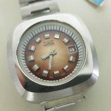 Relojes automáticos: J7- ANTIGO RELOJ VANROY AUTOMATIQUE 21 RUBIS INCABLOC SWISS MADE NUEVO ANTIGUO STOCK RELOJERIA N29. Lote 170811360