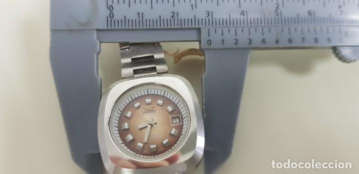 Relojes automáticos: J7- ANTIGO RELOJ VANROY AUTOMATIQUE 21 RUBIS INCABLOC SWISS MADE NUEVO ANTIGUO STOCK RELOJERIA N29 - Foto 3 - 170811360