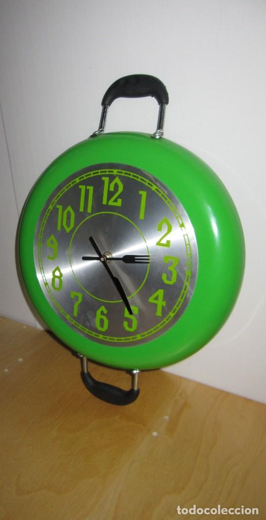 RELOJ DE PARED DISEÑO SARTÉN (Relojes - Relojes Automáticos)