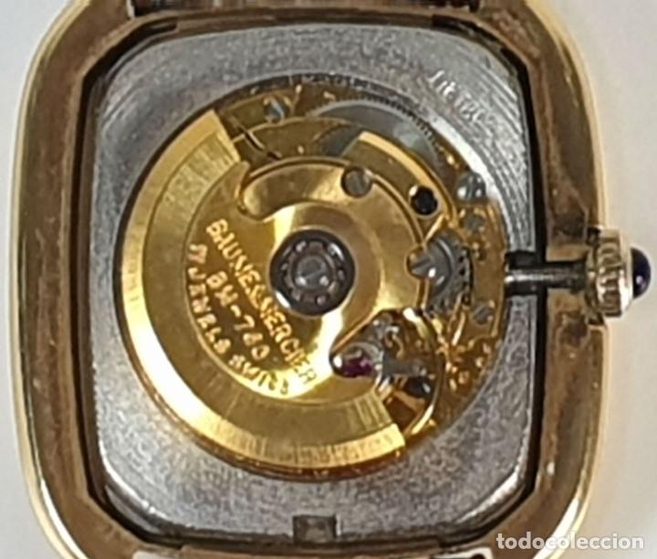 Relojes automáticos: RELOJ DE PULSERA. BAUME AND MERCIER. BAUMATIC. ORO DE 18 KT. SUIZA. CIRCA 1970. - Foto 7 - 171009010