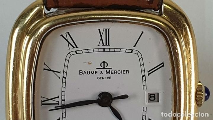 Relojes automáticos: RELOJ DE PULSERA. BAUME AND MERCIER. BAUMATIC. ORO DE 18 KT. SUIZA. CIRCA 1970. - Foto 8 - 171009010