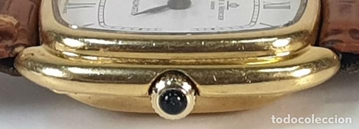 Relojes automáticos: RELOJ DE PULSERA. BAUME AND MERCIER. BAUMATIC. ORO DE 18 KT. SUIZA. CIRCA 1970. - Foto 9 - 171009010