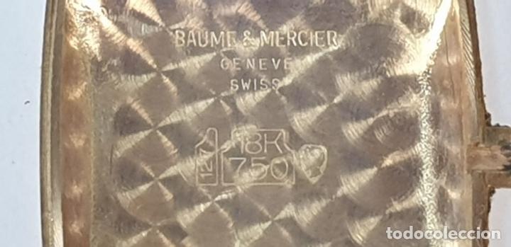 Relojes automáticos: RELOJ DE PULSERA. BAUME AND MERCIER. BAUMATIC. ORO DE 18 KT. SUIZA. CIRCA 1970. - Foto 10 - 171009010