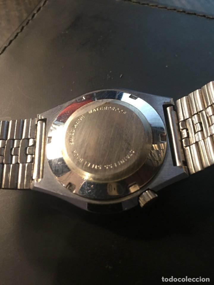 Relojes automáticos: RELOJ DE PULSERA MARCA SICURA MODELO DE LUXE AUTOMATICO DAY-DATE AÑOS 70 , FUNCIONA - Foto 5 - 171165918