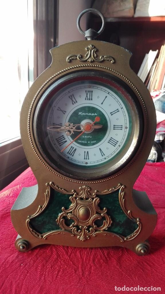 RELOJ URSS,DECORACIÓN BARROCA.AÑOS 70-80. (Relojes - Relojes Automáticos)