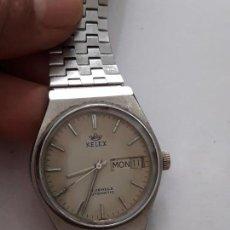 Relojes automáticos: RELOJ DE PULSERA CABALLERO AUTOMATICO KELEX CALIBRE 287G. FUNCIONA. Lote 171528740