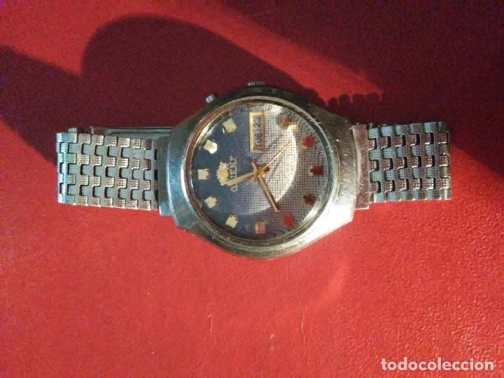 Relojes automáticos: Reloj Orient de pulsera vintage - Foto 5 - 171531975