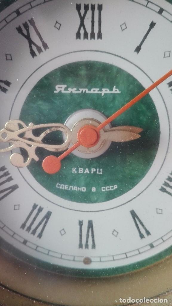 Relojes automáticos: Reloj URSS,decoración barroca.años 70-80. - Foto 2 - 171266667