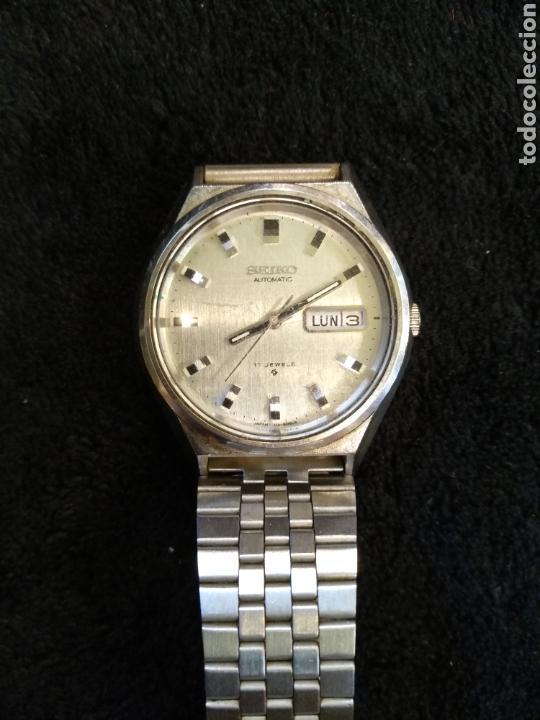 Relojes automáticos: Reloj automático Seiko 17 jewels. funciona - Foto 5 - 171963280