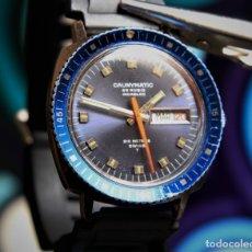 Relógios automáticos: CAUNY CALENDARIO CAUNYMATIC PRIMA DIVER CAUNY 25 RUBIS (. Lote 172372143