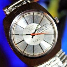 Relojes automáticos: RELOJ CANDELEANU VINTAGE SWISS SUIZO DE CALIDAD FLAMANTE.AUTOMATICO25 JEWELSS. Lote 172373477