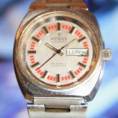 Relojes automáticos: RELOJ POTENS 25 JEWELS CRISTAL MINERAL.RELOJ AUTOMATICO .... Lote 172383365