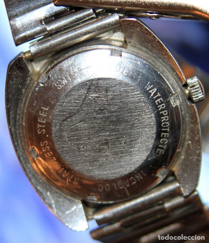 Relojes automáticos: reloj potens 25 JEWELS CRISTAL MINERAL.RELOJ AUTOMATICO ... - Foto 2 - 172383365