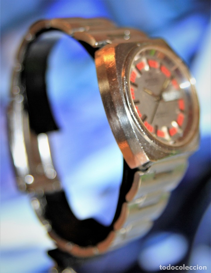 Relojes automáticos: reloj potens 25 JEWELS CRISTAL MINERAL.RELOJ AUTOMATICO ... - Foto 5 - 172383365
