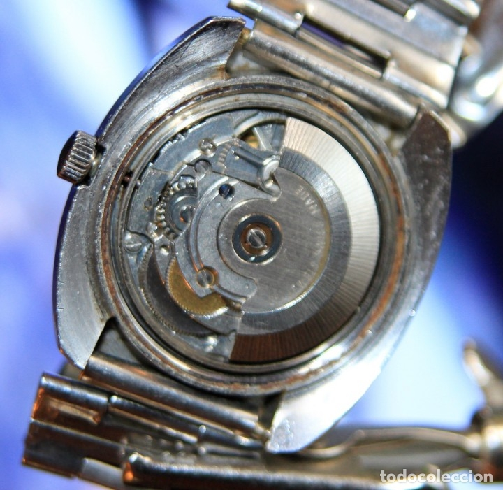 Relojes automáticos: reloj potens 25 JEWELS CRISTAL MINERAL.RELOJ AUTOMATICO ... - Foto 9 - 172383365
