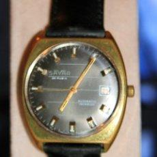 Relojes automáticos: RELOJ SAVAR AUTOMATIC 25 JEWELS VINTAGE. Lote 172384470