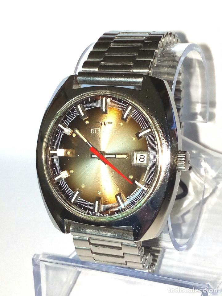 RELOJ DUWARD AUTOMATICO FUNCIONANDO (Relojes - Relojes Automáticos)