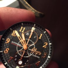 Relojes automáticos: MÁQUINA ETA VALJOUX 7750 CON ESFERA Y AGUJAS CRONÓGRAFO SOLO FALTA LA TIJA Y CORONA MARCA ELOG A. Lote 172799368