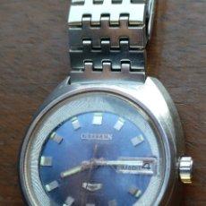 Relojes automáticos: RELOJ CITIZEN AUTOMÁTICO 21.RUBIS - FUNCIONANDO. Lote 172855655