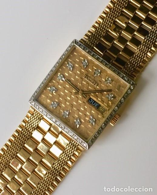 Relojes automáticos: PIAGET ORO 18Kt.-DIAMANTES EN ESFERA Y BISEL. - Foto 4 - 46870886