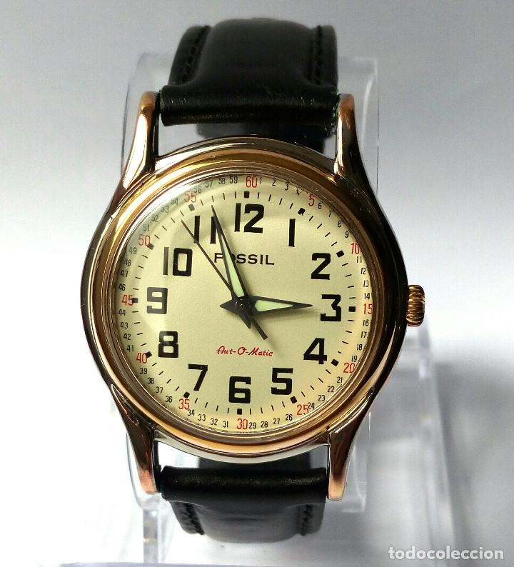 RELOJ FOSSIL AUTOMATICO FUNCIONANDO (Relojes - Relojes Automáticos)