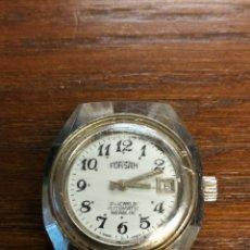 Relojes automáticos: RELOJ CADETEO SEÑORA MARCA FORSAN AUTOMATICO 21 JEWELS INCABLOC- FUNCIONANDO. Lote 173525377