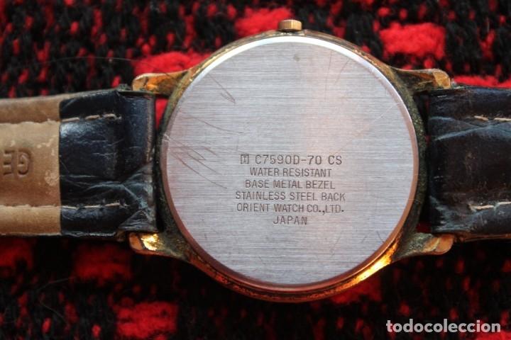 Relojes automáticos: reloj de mujer marca racer quarz con correa cuero genuina de lotus - Foto 3 - 173681423