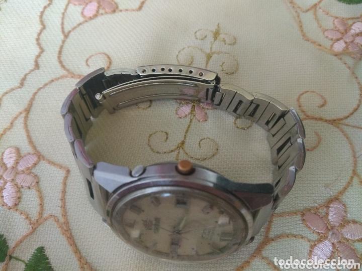 Relojes automáticos: MUY DIFÍCIL (RELOJ ORIENT AUTOMÁTICO - ANTISHOCK, ÚNICO TD ! ) CAJA 38 MM. VER FOTOGRAFÍAS. - Foto 3 - 167174818