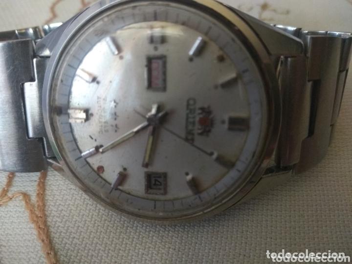 Relojes automáticos: MUY DIFÍCIL (RELOJ ORIENT AUTOMÁTICO - ANTISHOCK, ÚNICO TD ! ) CAJA 38 MM. VER FOTOGRAFÍAS. - Foto 4 - 167174818