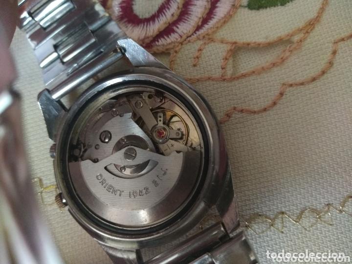 Relojes automáticos: MUY DIFÍCIL (RELOJ ORIENT AUTOMÁTICO - ANTISHOCK, ÚNICO TD ! ) CAJA 38 MM. VER FOTOGRAFÍAS. - Foto 7 - 167174818