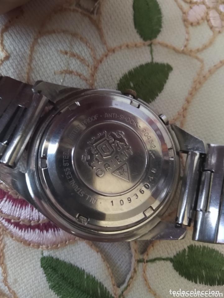 Relojes automáticos: MUY DIFÍCIL (RELOJ ORIENT AUTOMÁTICO - ANTISHOCK, ÚNICO TD ! ) CAJA 38 MM. VER FOTOGRAFÍAS. - Foto 11 - 167174818