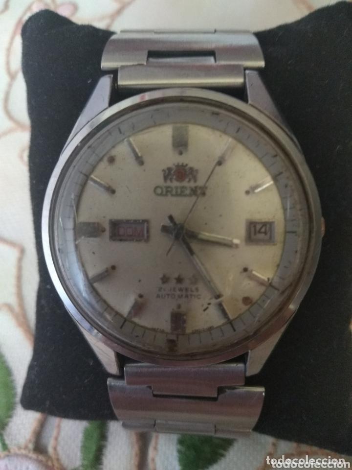 MUY DIFÍCIL (RELOJ ORIENT AUTOMÁTICO - ANTISHOCK, ÚNICO TD ! ) CAJA 38 MM. VER FOTOGRAFÍAS. (Relojes - Relojes Automáticos)