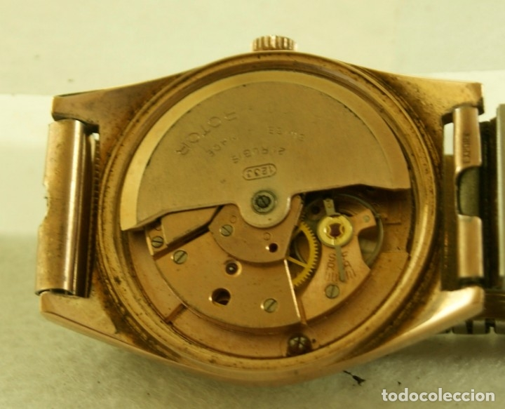 Relojes automáticos: LANCO ROTOR AUTOMATIC FUNCIONANDO CHAPADO EN ORO - Foto 6 - 174157643