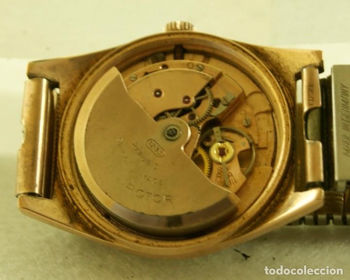 Relojes automáticos: LANCO ROTOR AUTOMATIC FUNCIONANDO CHAPADO EN ORO - Foto 7 - 174157643