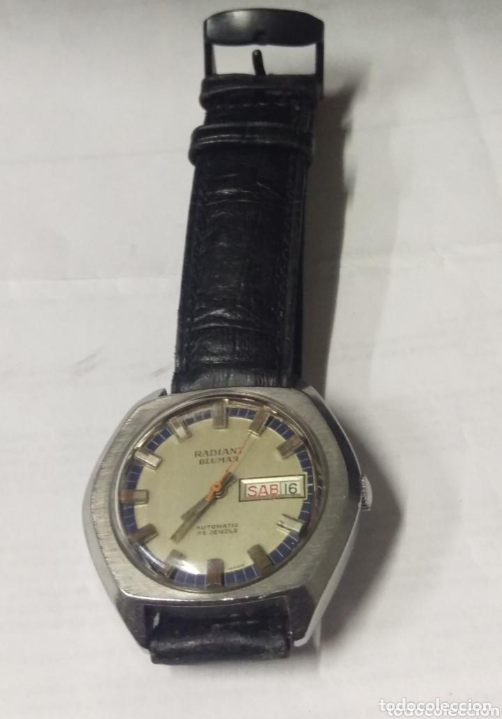 Relojes automáticos: Buscado RADIANT BLUMAR 25 J. automático funcionando. grande 39 mm. - Foto 4 - 174177450