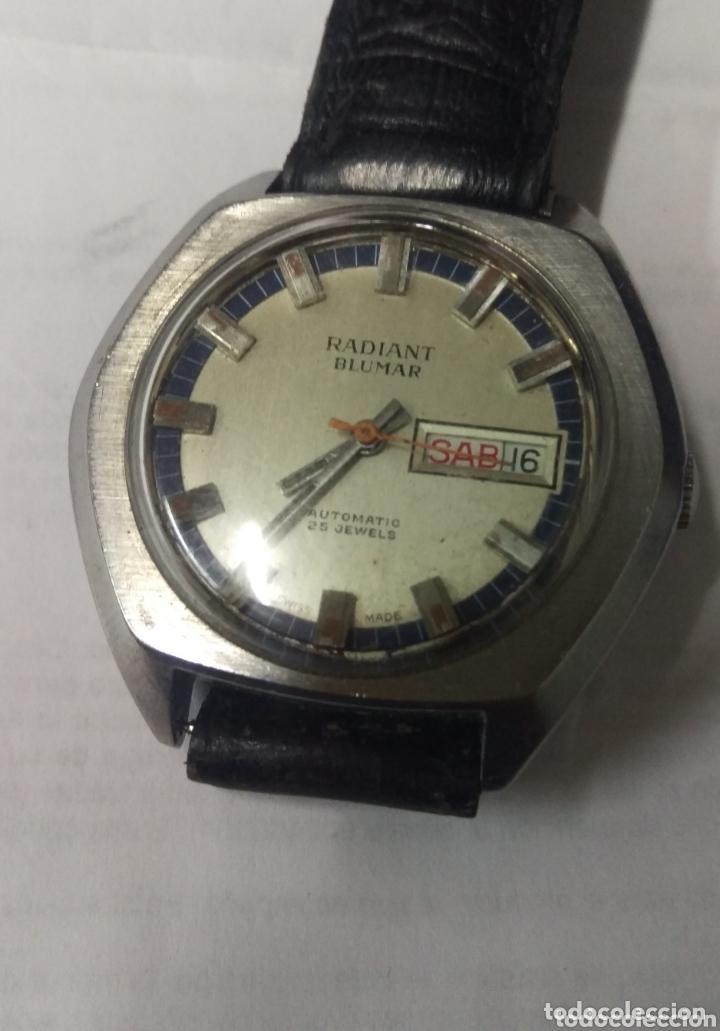 BUSCADO RADIANT BLUMAR 25 J. AUTOMÁTICO FUNCIONANDO. GRANDE 39 MM. (Relojes - Relojes Automáticos)