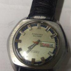 Relojes automáticos: BUSCADO RADIANT BLUMAR 25 J. AUTOMÁTICO FUNCIONANDO. GRANDE 39 MM.. Lote 174177450