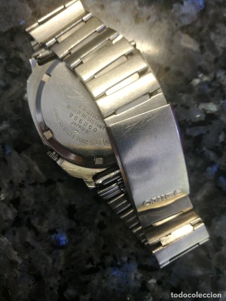 Relojes automáticos: Seiko 5, 7009 5140. Raro finales de los años 60 - Foto 2 - 174305777