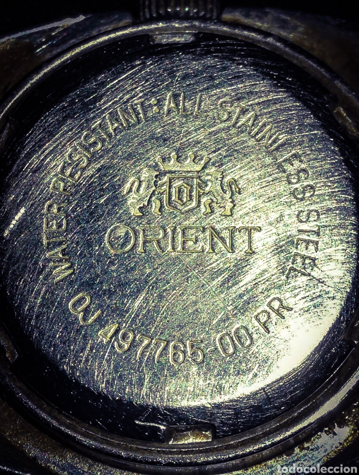 Relojes automáticos: RELOJ ORIENT AUTOMATIC 21 JEWELS. - Foto 4 - 173967324