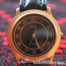 Relojes automáticos: RELOJ DE MUJER MARCA RACER QUARZ CON CORREA CUERO GENUINA DE LOTUS. Lote 174712372