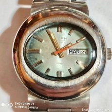 Relojes automáticos: TITAN AUTOMATIC 17 RUBIS CAL. AS 2066 .ALL ACERO , 42,4 M/M. C/C. . Lote 174946052