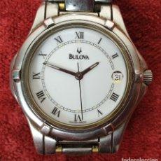 Relojes automáticos: RELOJ DE PULSERA BULOVA. CAJA DE ACERO INOXIDABLE. CUARZO. SUIZA. SIGLO XX. Lote 175171248