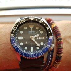 Relojes automáticos: RELOJ SEIKO DIVER 7S26 0020 , MOD ROLEX GMT MASTER. Lote 175196532