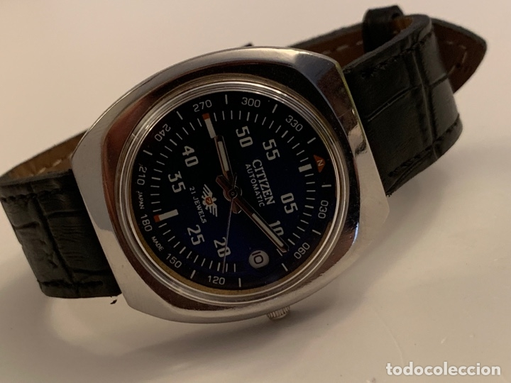 CITIZEN AUTOMATICO DE COLECCION RARO GRANDE (Relojes - Relojes Automáticos)