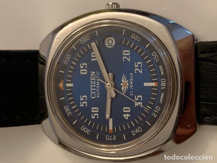 Relojes automáticos: CITIZEN AUTOMATICO DE COLECCION RARO GRANDE - Foto 3 - 175298624