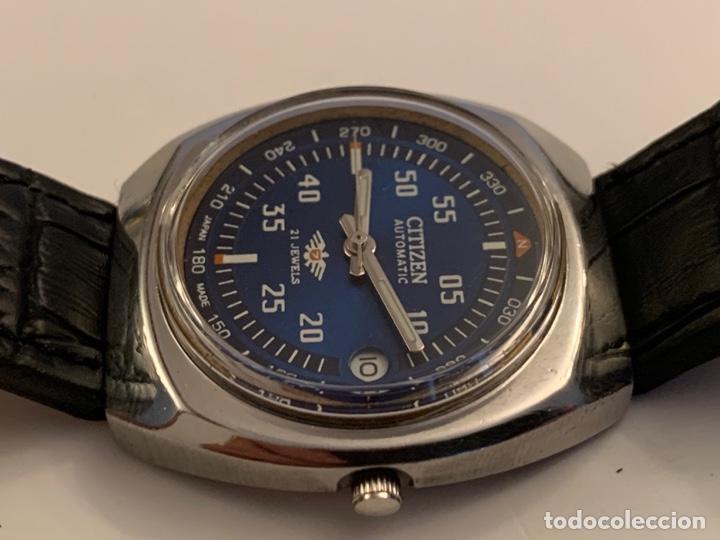 Relojes automáticos: CITIZEN AUTOMATICO DE COLECCION RARO GRANDE - Foto 4 - 175298624