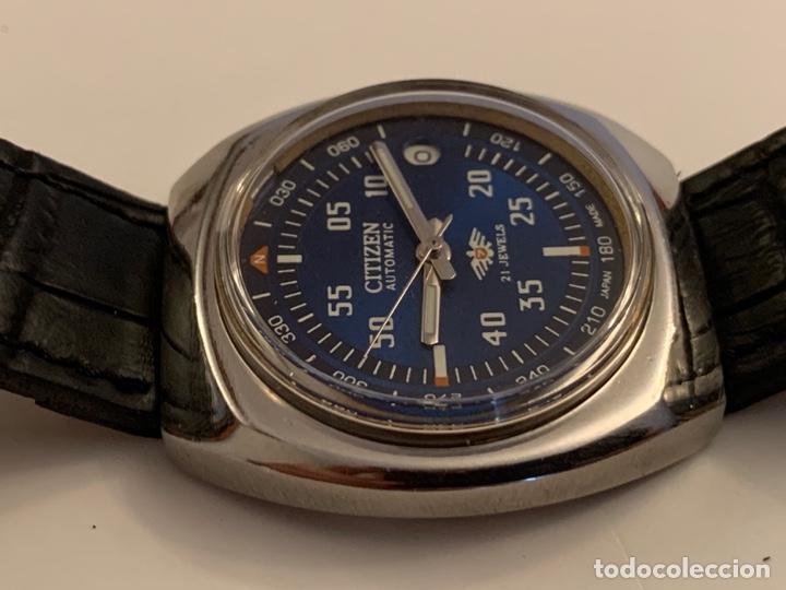 Relojes automáticos: CITIZEN AUTOMATICO DE COLECCION RARO GRANDE - Foto 5 - 175298624