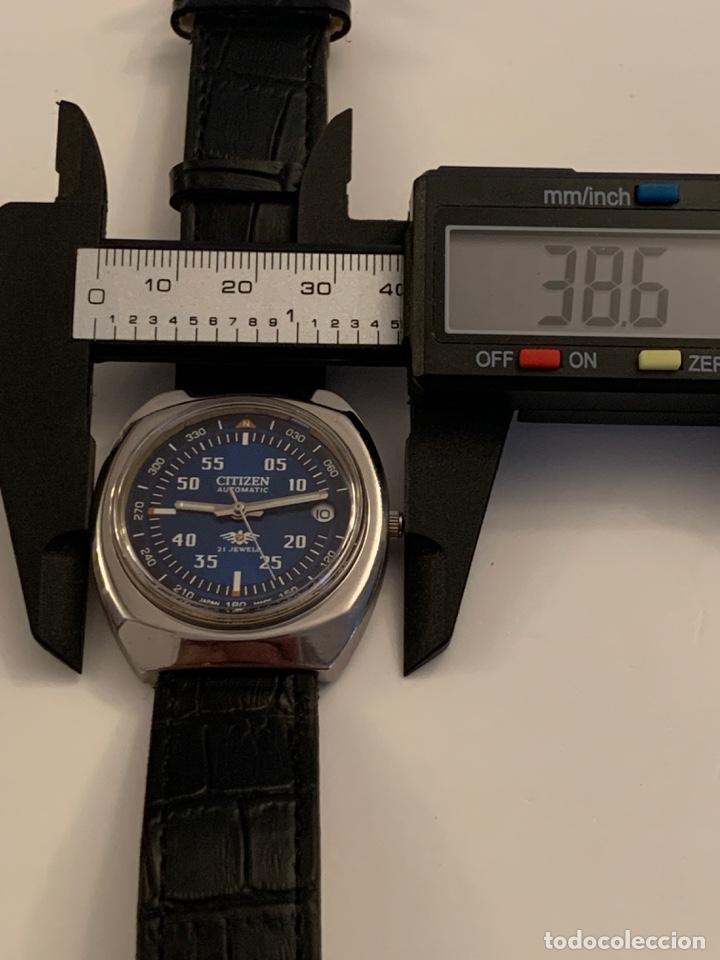 Relojes automáticos: CITIZEN AUTOMATICO DE COLECCION RARO GRANDE - Foto 8 - 175298624